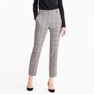 ISO J Crew Tailored pant in Lady Glen Plaid